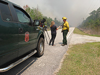 Whipping Creek Road Fire