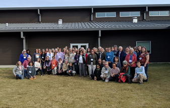 Photo of ForestHER participants