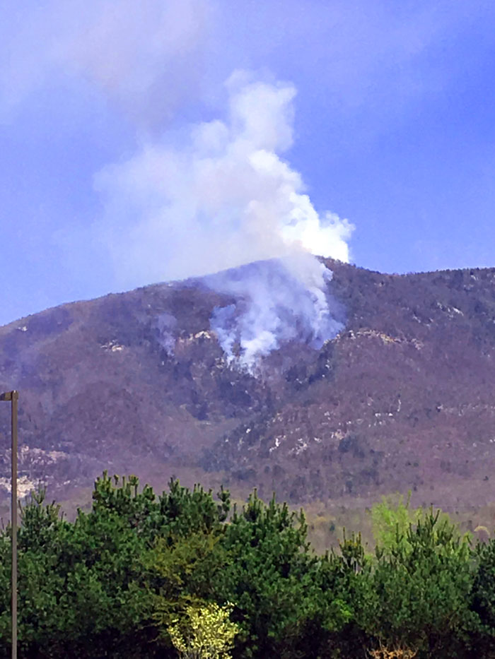 Image of Dobson Knob Fire